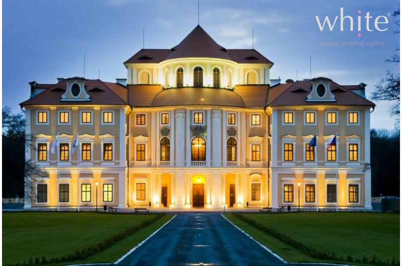 Wedding receptions in prague chateau liblice wedding for Baroque hotel