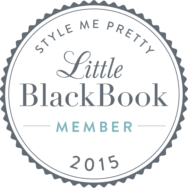 We are a proud member of Style Me Pretty, Little Black Book