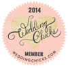 We are officially Wedding Chicks! Proud to be members of this inspirational blog