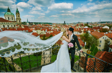 Wedding in Prague Janne & Ketil