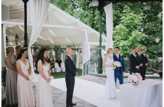 Wedding in Prague Slavonic Island Restaurant