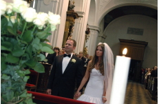 Wedding in Prague St. Thomas Church