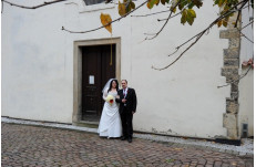 Wedding in Prague Chapel of John the Baptist upon the Laver