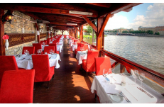 Wedding in Prague Riverside Restaurant