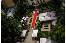 Wedding in Prague Secret Garden  at Mark Hotel