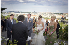 Wedding in Prague Vineyard Prague Castle