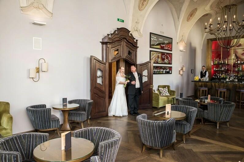 Wedding receptions in prague the augustine hotel for Augustine hotel prague