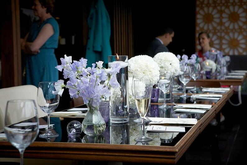 Wedding Receptions In Prague Stylish Petite Restaurant Wedding